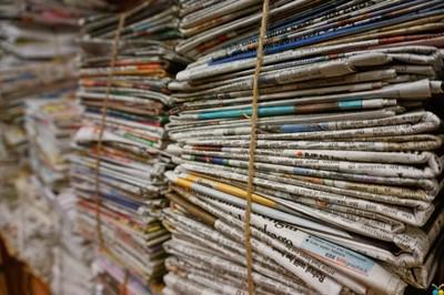 diarios, papel y carton