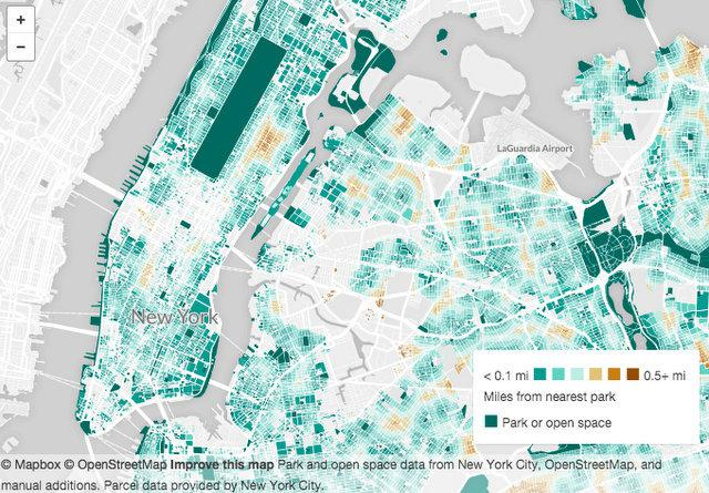 WNYC-Map-Distance-to-NYC-Parks-Open-Space-per-Resident